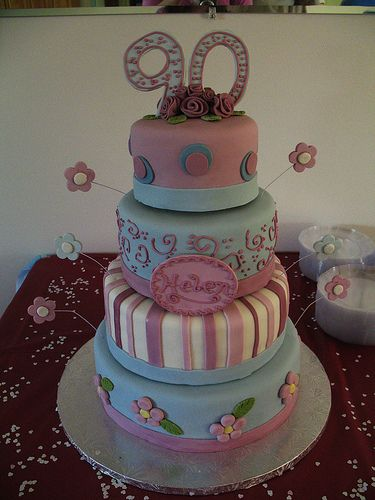 90th Birthday Cake Decorating Ideas Kudoki for