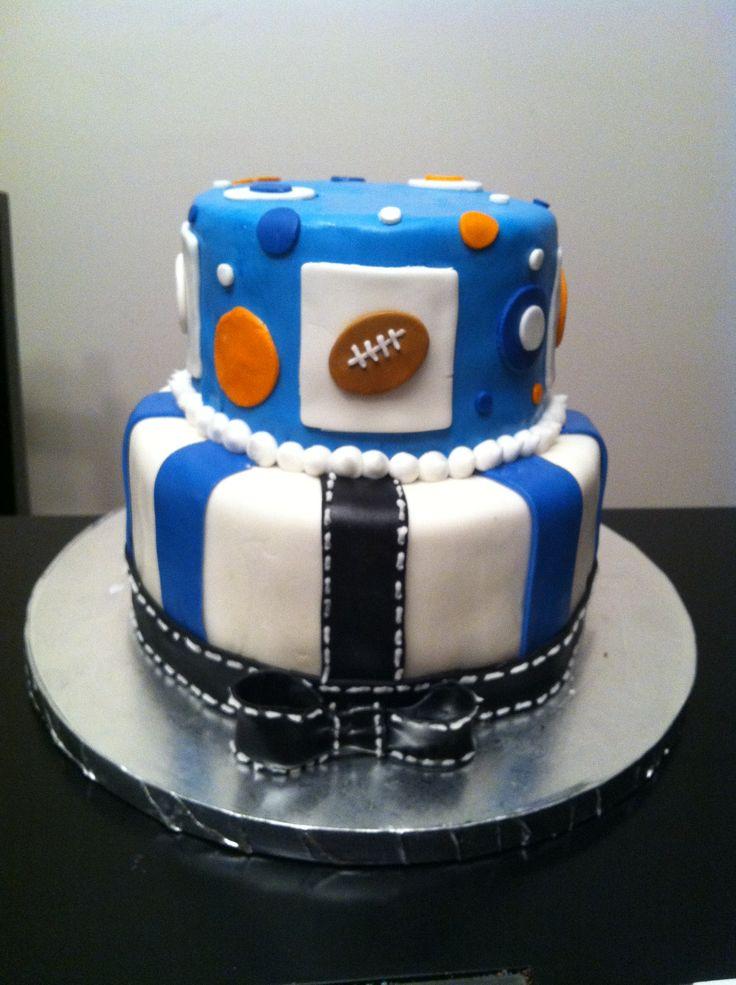 sports baby shower theme cake babyshowers pinterest