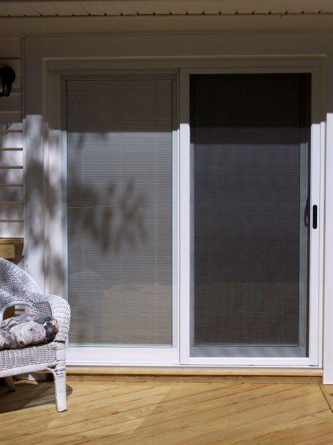 patio door with built in blinds home sweet home pinterest