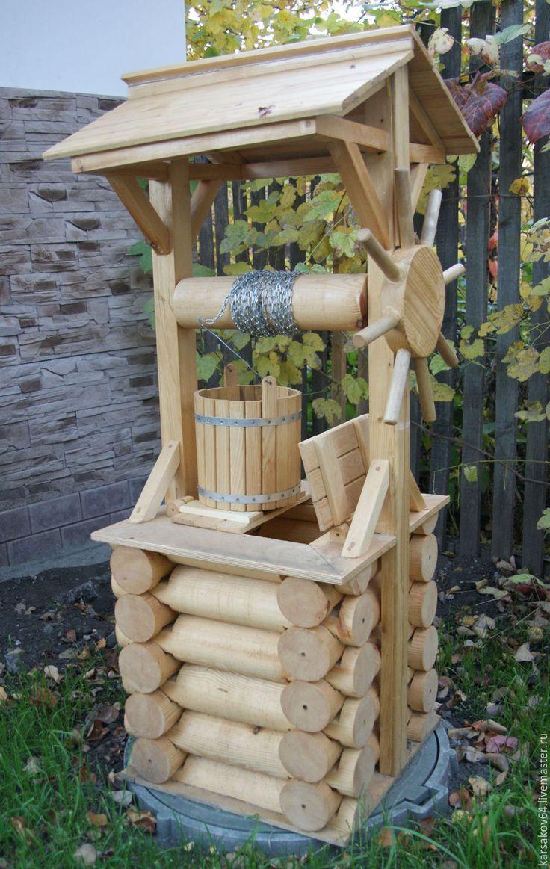 Как сделать деревянный колодец - AtmWood 92