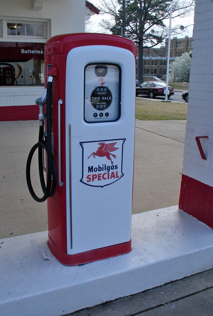 Vintage Gas Station Pumps 43