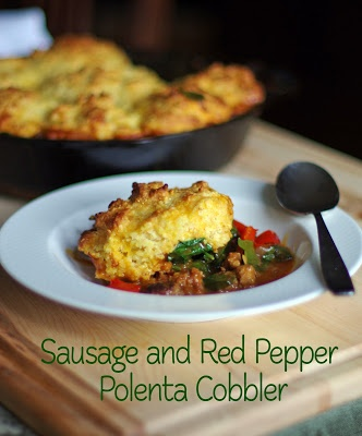 ... Savory Pies by Greg Henry and Sausage and Red Pepper Polenta Recipe