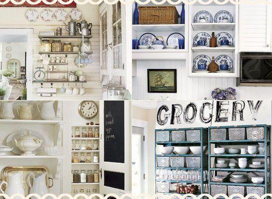 Shelf display ideas kitchen pinterest - Kitchen shelf display ideas ...