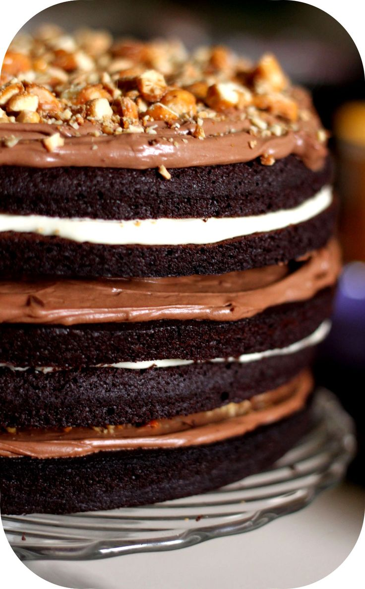 Layer Cake 3 chocolats... The Big One... suite