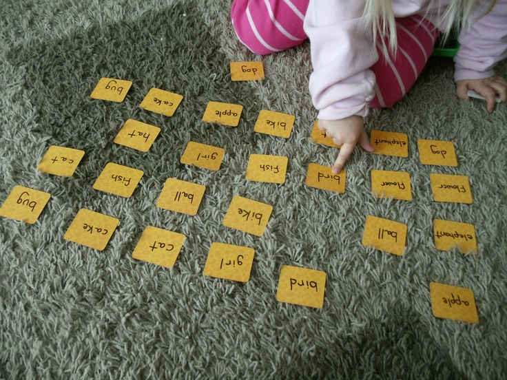 word match memory game