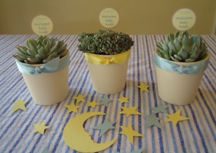 Great centerpiece and giveaway baby shower ideas pinterest