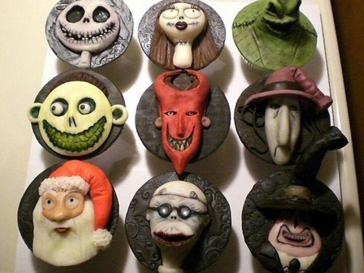 Nightmare Before Christmas cupcakes | Cupcakes! Cupcakes! Cupcakes ...