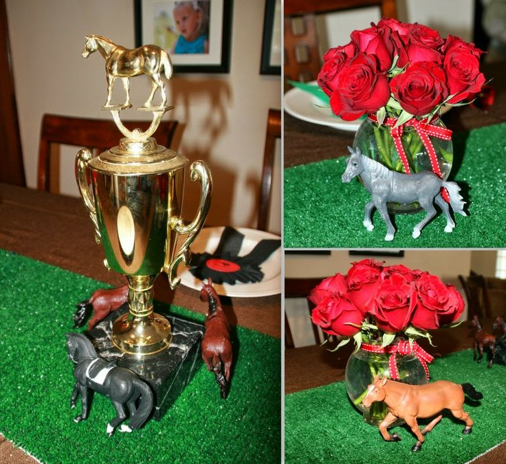 Kentucky derby party centerpieces ideas pinterest