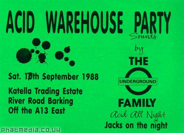 Pin by phatmedia on acid house early rave flyers pinterest for Acid house 1988