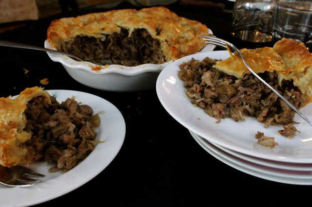 Tanglewood Baked Goods: Tourtière du Shack (Pork Pie!)