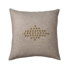 Nate Berkus™ Nail Head Decorative Pillow - Earth. In the office.
