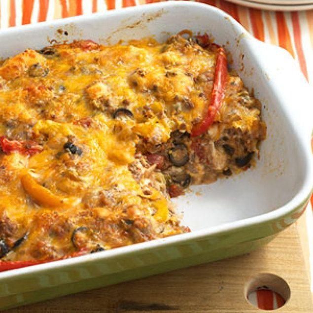 Beef Nacho Casserole | Recipes - pork, beef, seafood | Pinterest
