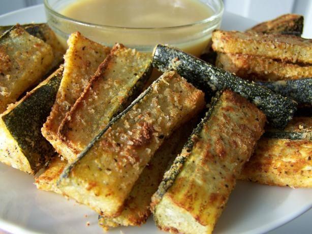 Nat's Oven Baked Zucchini Sticks | Recipe