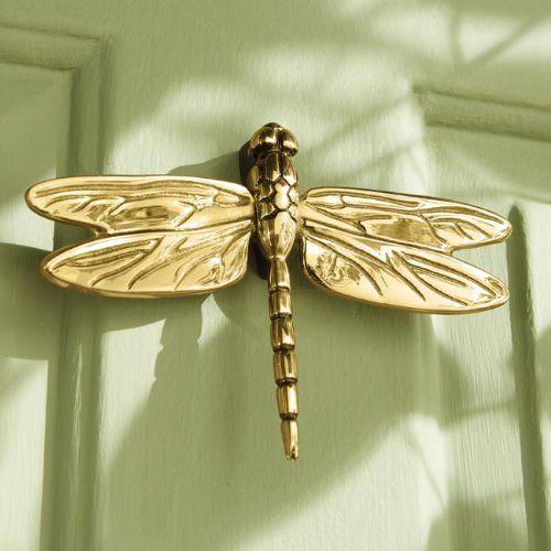 Dragonfly door knocker dragonflies pinterest - Dragonfly door knockers ...