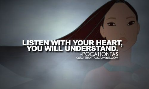 I love Pocahontas, she was my favorite growing up.