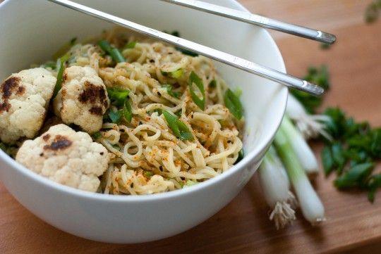 Ginger Scallion Noodles | Noodles | Pinterest