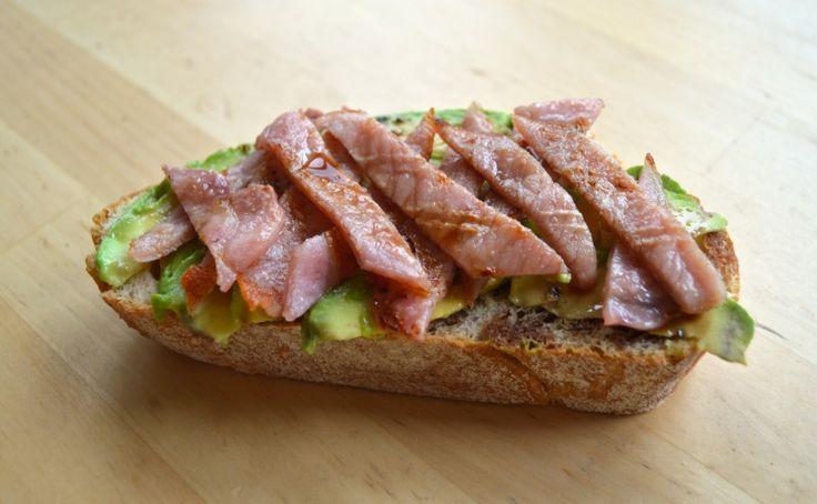 Avocado & Bacon 'Salad' | Yummy Food | Pinterest