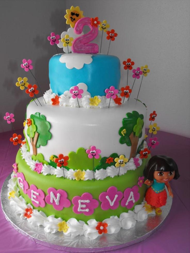 Cake Design Dora : dora cake #2 For the Love of Cake & Baking Ideas