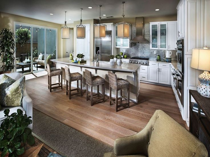 Kitchen view model home kitchen of desire pinterest for Model home kitchens