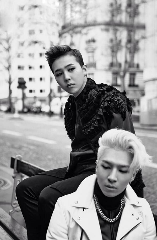 Dragon x Taeyang in Paris 2014quot; Wallpaper from Line Deco BIGBANG