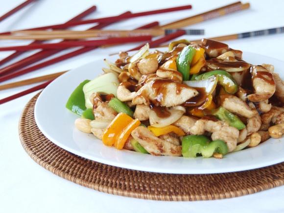 Chicken Cashew Stir Fry. | Yummy | Pinterest