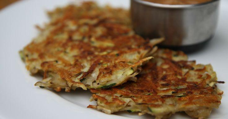 Hanukkah Goes Green: Zucchini Potato Latkes