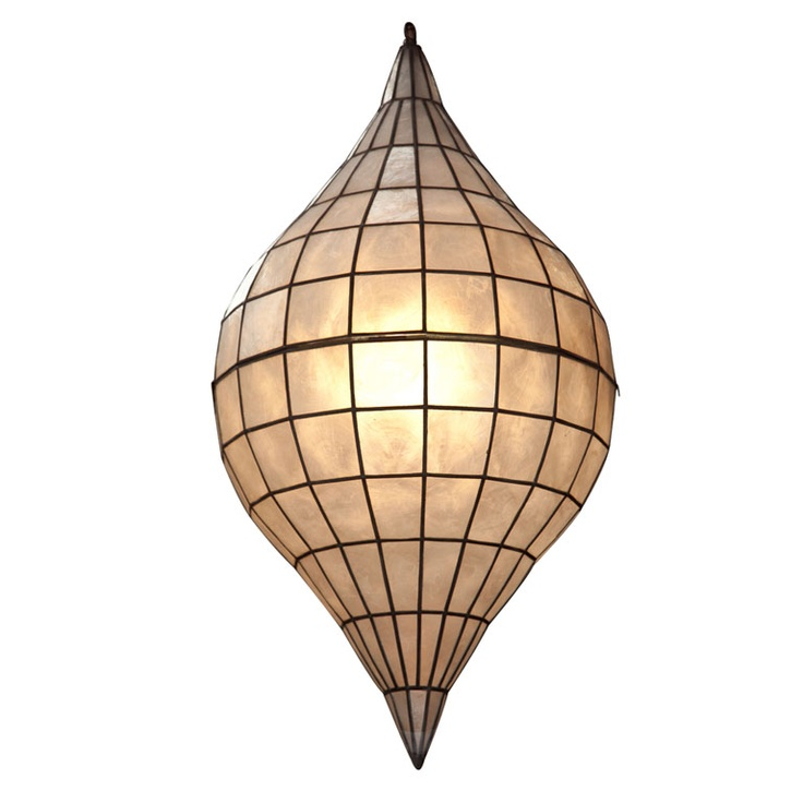 A Great Capiz Shell Pendant Light Design Pinterest