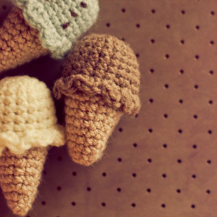 Amigurumi Ice Cream Cone Free Pattern : crochet ice cream Crochet Bits & Bobs & Random Patterns ...