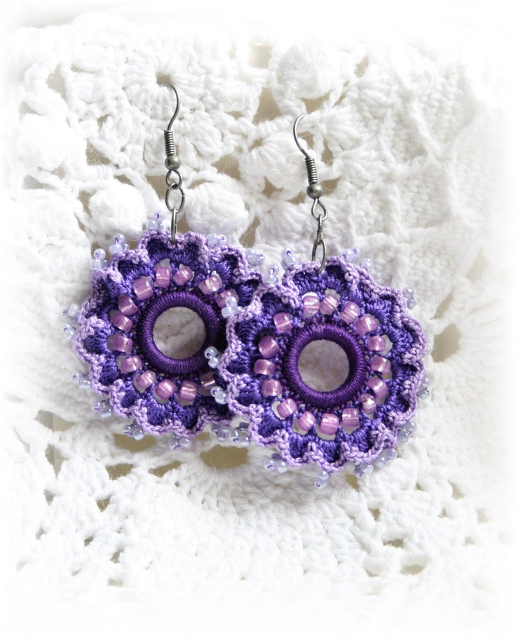 Crocheting And Tatting : tatting and crochet crochet tatting Pinterest