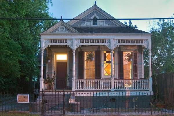 Shotgun House New Orleans I LOVE HOUSES Pinterest