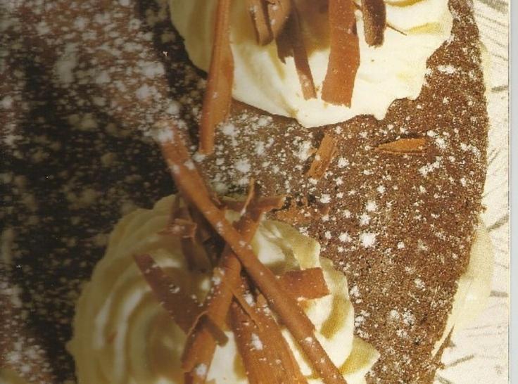 Chocolate Cake with Whiskey Cream   Laura Whitacre   Pinterest