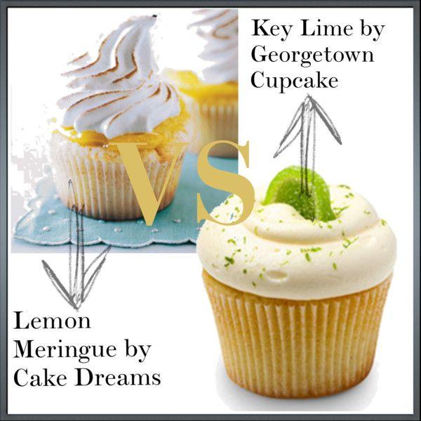 Key Lime & Lemon Meringue Pie Cupcakes - Cupcake Wars 2 - Citrus ...