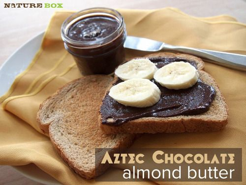Aztec Chocolate Almond Butter | Healthy Eating | Pinterest