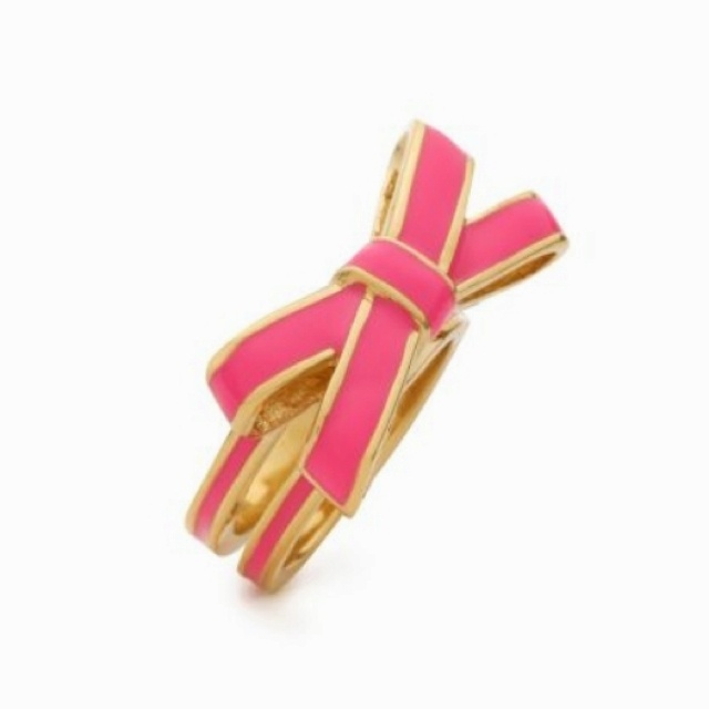 Needs this haven t decided on a color yet tho kate spade bow ring