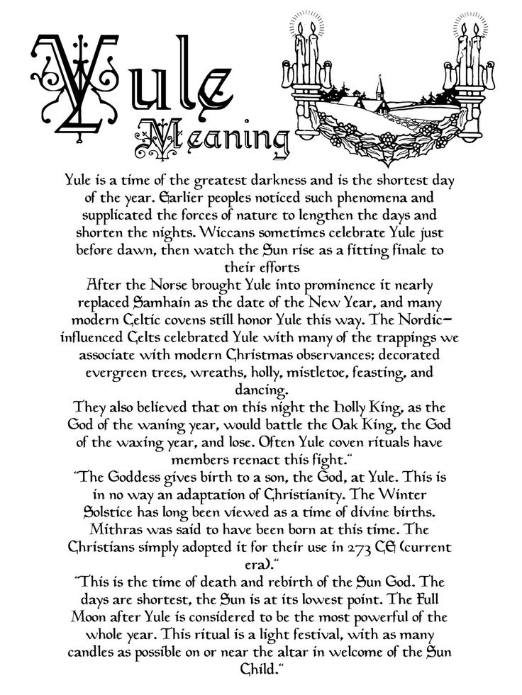 The meaning of yule december yule pinterest