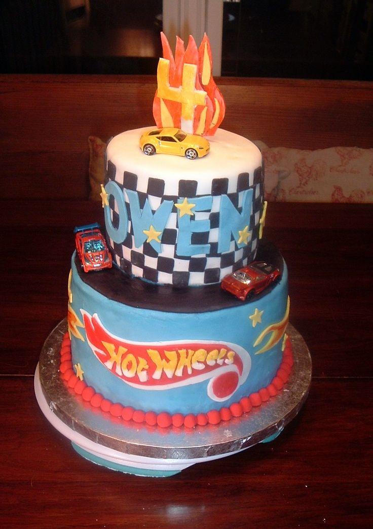 Hotwheels Birthday Cake Google Search Party Decoration