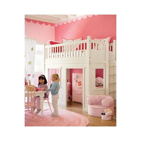 Playhouse Loft Bed Pottery Barn Kids Dream A Little