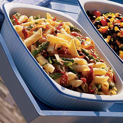Pasta Salad with Asparagus and Pecorino Coastalliving.com