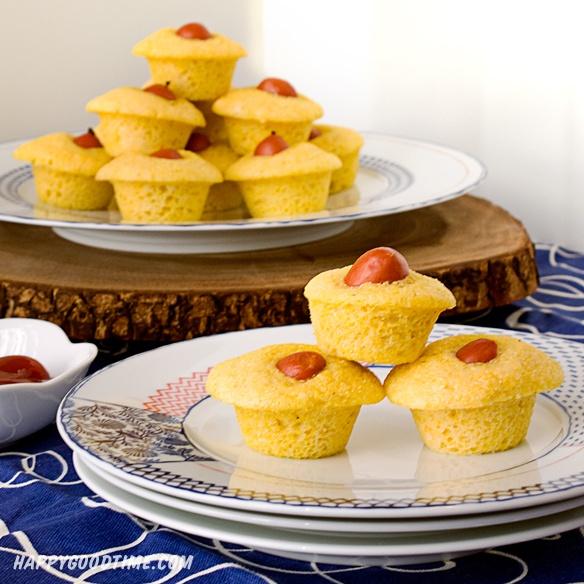 Corn Dog Mini Muffins | Foodie | Pinterest