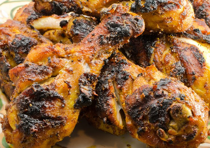 five-spice chicken – drumsticks slashed and marinated with ginger ...