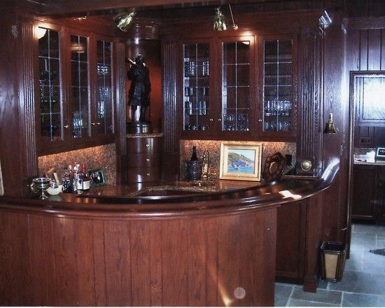 Custom made home bar mcdermaid 39 s pub pinterest - Unique home bars ...