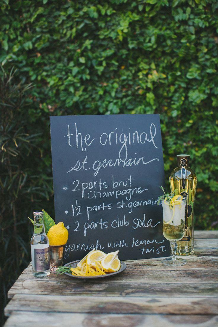 The Original St-Germain cocktail. | Summer Cocktails | Pinterest