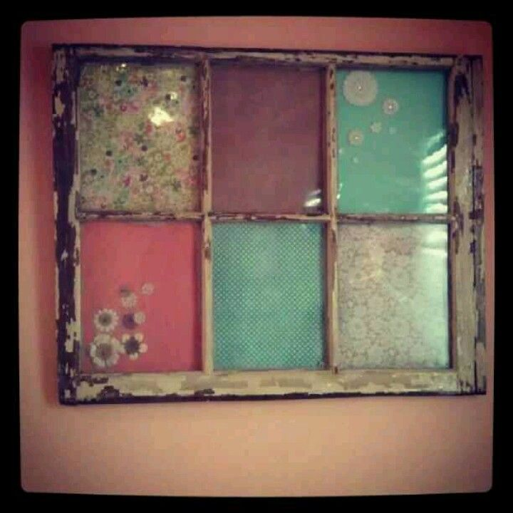 Love old windows diy craft ideas reuse pinterest for Old window craft projects
