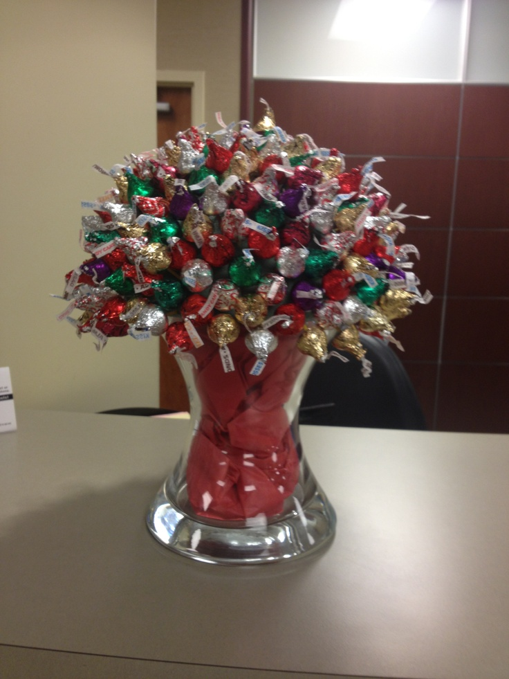 Hershey Kiss Candy Bouquet