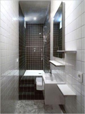 Salle de bains 3m2 baden en douchen bathroom pinterest - Salle de bain de 3m2 ...