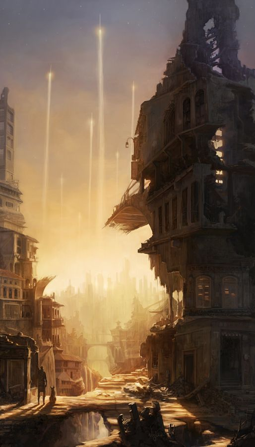 — abandoned city by ~poibuts on deviantART