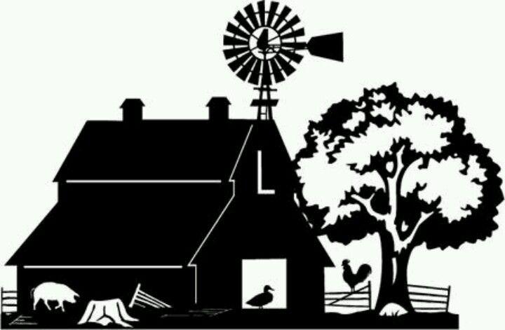 Farmer Family Silhouette | www.imgkid.com - The Image Kid ...