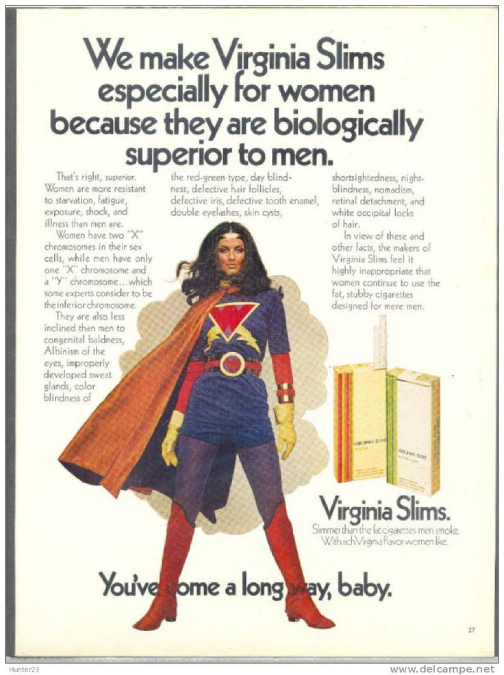 virginia slims cigarette ad campaign of 1968 essay It started in 1968 – phillip morris launches the very first cigarette brand marketed   smoking virginia slims was freedom, it was liberation  the start of the  virginia slims ad campaign, there's such an enormous change, such.
