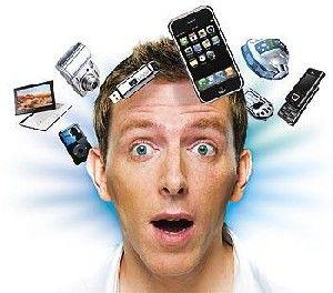 ¿Desbordados? ¿Idiotizados por la tecnología? Más bien por el consumismo y el gadgeterismo (esa palabra no existe, pero si existiera sería la fiebre por el nuevo gadget). Somos tecnoadictos. Necesitamos un consultor tecnológico. ¿No echáis de menos a una Elena Francis de la informática? Preguntad y asesoraos antes de tomar una decisión. http://www.lemonsat.es/tecnoadictos-quiero-quiero-quiero/