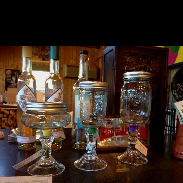 Candle holder using mason jar wedding ideas pinterest for Mason jar holder ideas